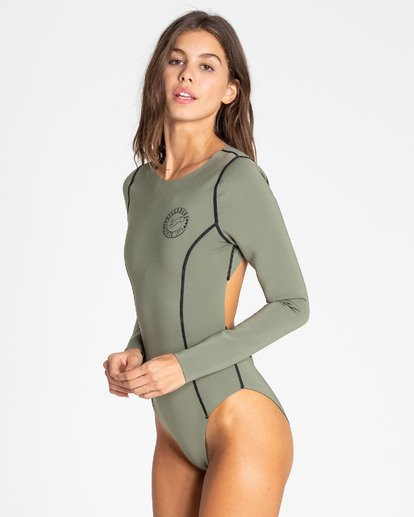 3 Surfed Out Bodysuit Black XR11TBDE Billabong