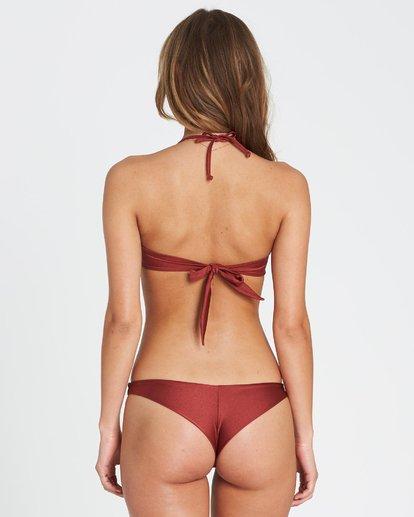 2 Sol Searcher Bandeau  Bikini Top Red XT01SBSO Billabong