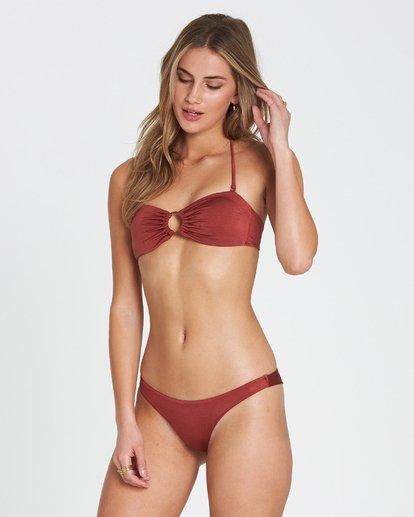 1 Sol Searcher Bandeau  Bikini Top Red XT01SBSO Billabong