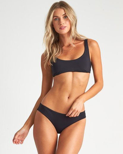 0 Sol Searcher Bralette Bikini Top Black XT021BSO Billabong