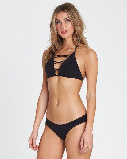 1 Sol Searcher High Neck High Neck Bikini Top Black XT02SBSO Billabong