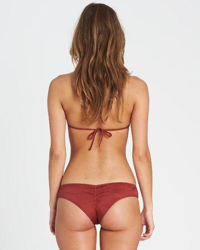 2 Sol Searcher High Neck High Neck Bikini Top Red XT02SBSO Billabong