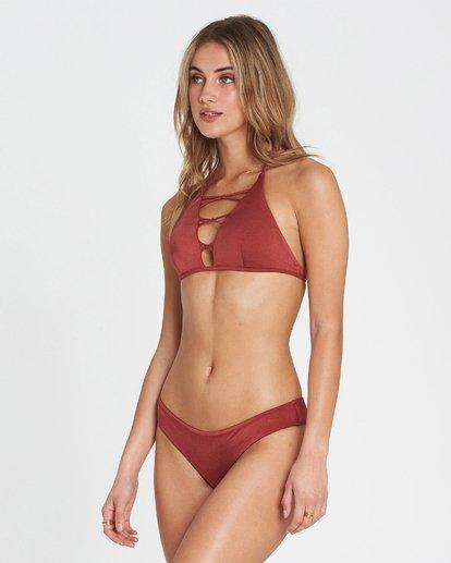 1 Sol Searcher High Neck High Neck Bikini Top Red XT02SBSO Billabong