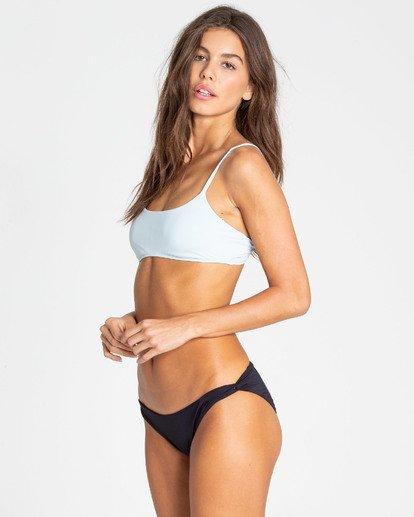 1 Sol Searcher Mini Crop Bralette Bikini Top Blue XT02TBSO Billabong