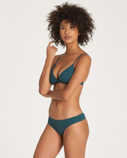 1 Sol Searcher Fix Tri Bikini Top Green XT02UBSO Billabong
