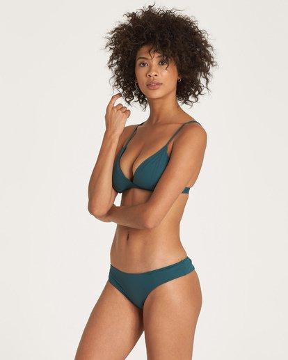 1 Sol Searcher Fix Tri Bikini Top Green XT02UBSO Billabong