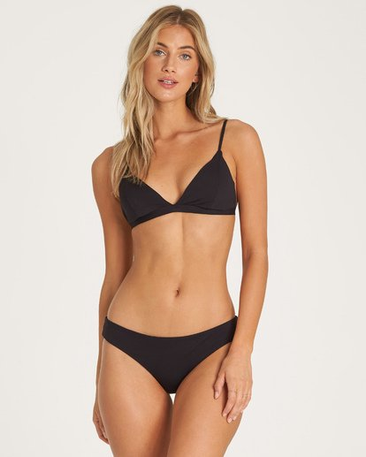 0 Sol Searcher Fix Tri Bikini Top Black XT02UBSO Billabong