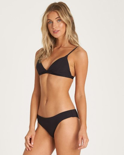 1 Sol Searcher Fix Tri Bikini Top Black XT02UBSO Billabong