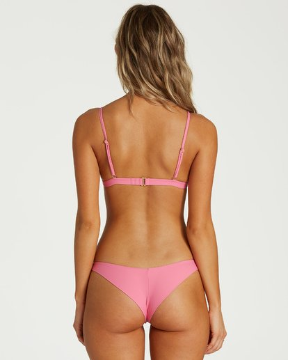3 Sol Searcher Fix Tri Bikini Top Pink XT02UBSO Billabong