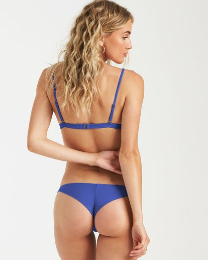 1 Sol Searcher Fix Tri Bikini Top Blue XT02UBSO Billabong