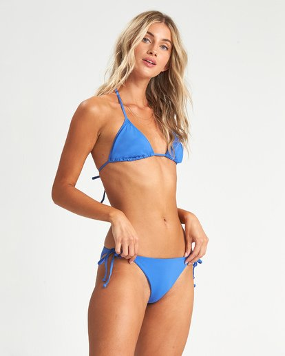 1 Sol Searcher Triangle Bikini Top Blue XT031BSO Billabong
