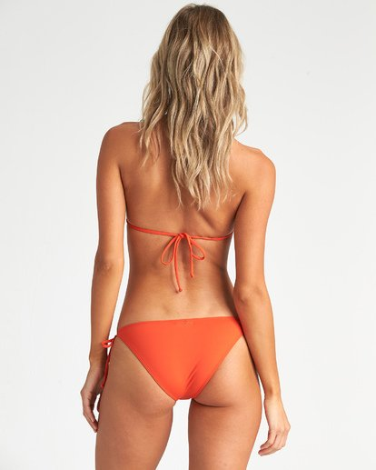 2 Sol Searcher Triangle Bikini Top Orange XT031BSO Billabong