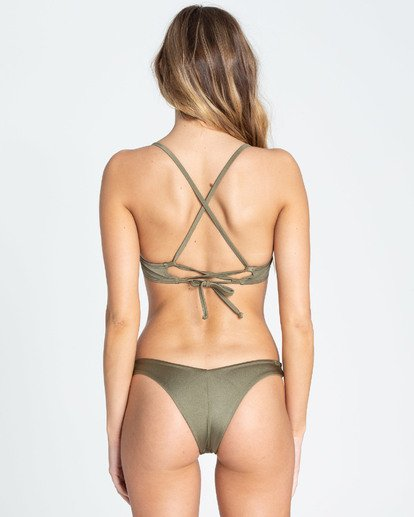 3 Sol Searcher Underwire Bikini Top Green XT03TBSO Billabong