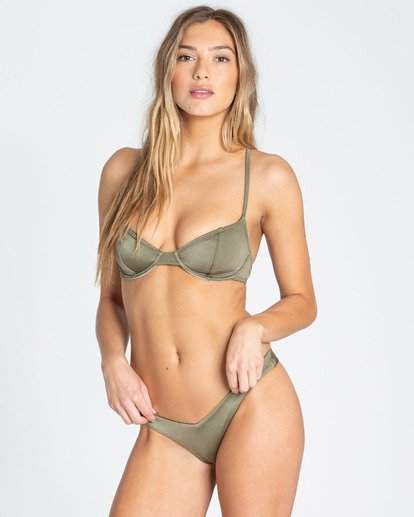 1 Sol Searcher Underwire Bikini Top Green XT03TBSO Billabong