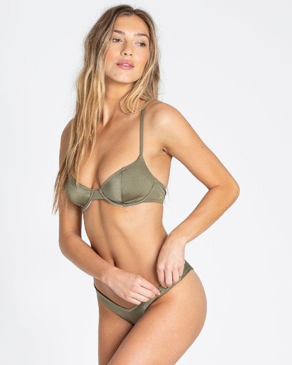 2 Sol Searcher Underwire Bikini Top Green XT03TBSO Billabong