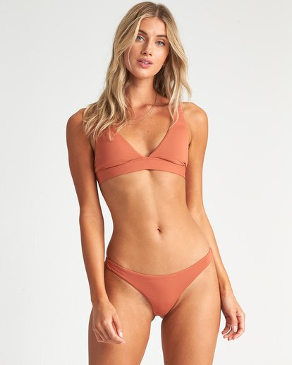 0 Sol Searcher Triangle Bikini Top Red XT051BSO Billabong