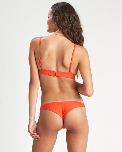 2 Sol Searcher Triangle Bikini Top Orange XT051BSO Billabong