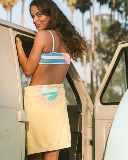 1 Break A Dawn Tube Bikini Top Grey XT062BBR Billabong