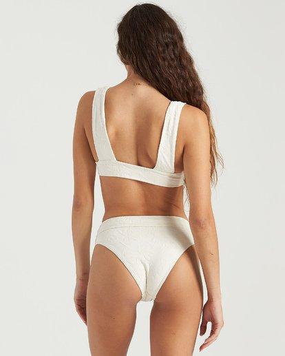 5 Crystal Tides Plunge Bikini Top White XT063BFA Billabong