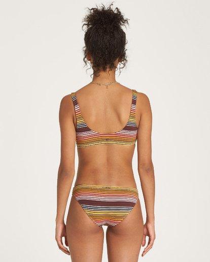 1 Sun Fall Trilet Bikini Top Black XT06WBSU Billabong