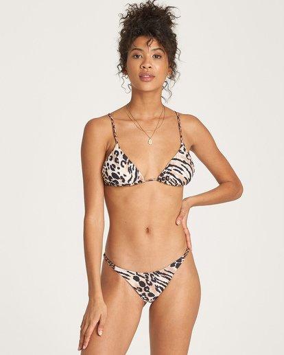 2 Wild Waves Tri Bikini Top Grey XT07WBWI Billabong