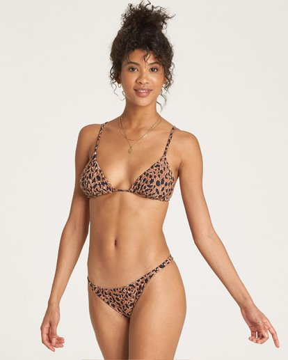 3 Wild Waves Tri Bikini Top Grey XT07WBWI Billabong