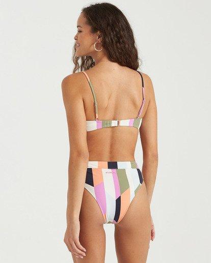 2 Slow Roller Trilet Bikini Top Grey XT083BSL Billabong