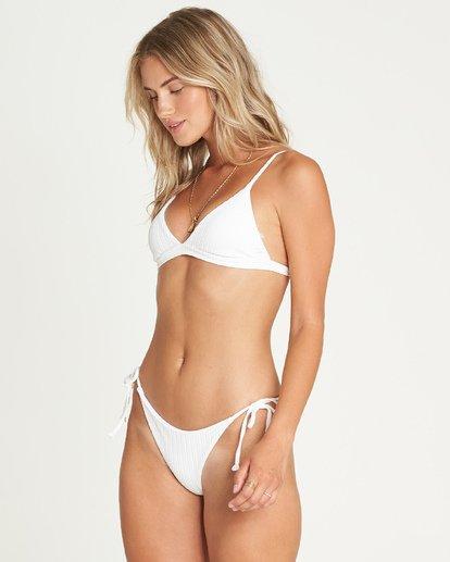 2 Sunny Rib Tri Bikini Top White XT10UBSU Billabong