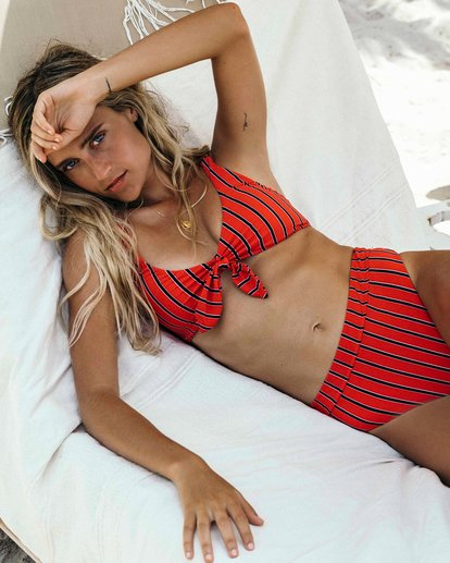 0 Hot For Now Tank Bikini Top Red XT11VBHO Billabong