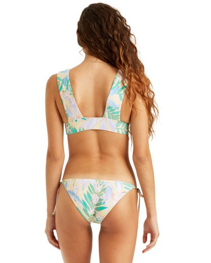 2 Love Palms Plunge Bikini Top  XT122BLO Billabong