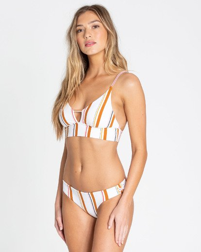 1 Sunstruck V Cami Bikini Top Yellow XT12TBSU Billabong