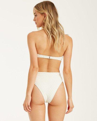 3 Peeky Days Square Wire Bikini Top White XT152BPE Billabong