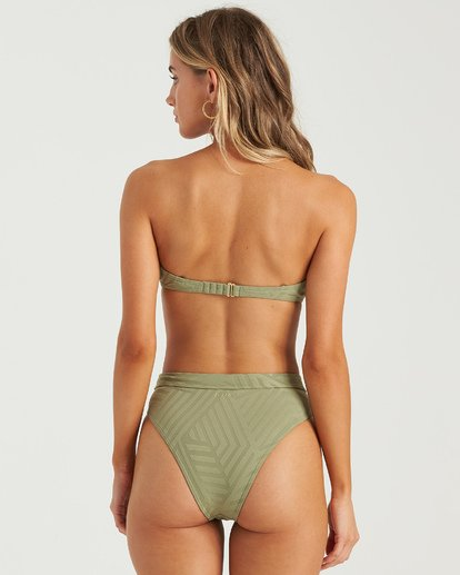 3 Peeky Days Square Wire Bikini Top Multicolor XT152BPE Billabong