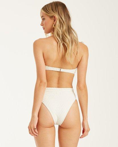 6 Peeky Days Square Wire Bikini Top White XT152BPE Billabong