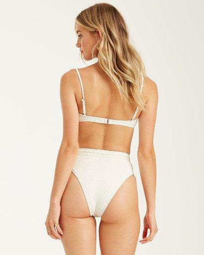 7 Peeky Days Square Wire Bikini Top White XT152BPE Billabong