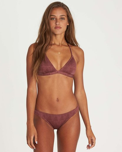 0 Way To Love Tri Bikini Top Purple XT15NBWA Billabong