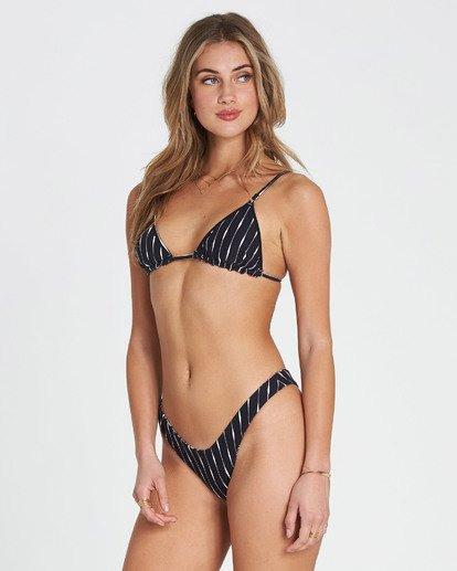 2 Rosarita Slide Tri Triangle Bikini Top Black XT15SBRO Billabong