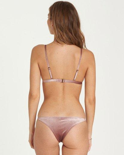 2 Fool4U High Point Tri Bikini Top Purple XT16QBFO Billabong