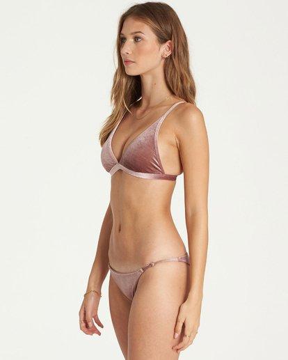 1 Fool4U High Point Tri Bikini Top Purple XT16QBFO Billabong