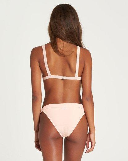 2 Tanlines Fixed Tri Bikini Top Pink XT20NBTA Billabong