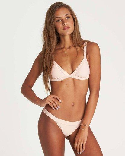 0 Tanlines Fixed Tri Bikini Top Pink XT20NBTA Billabong