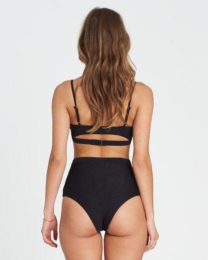 3 Tanlines Trilet Rib Knit Bikini Top Black XT21SBTA Billabong
