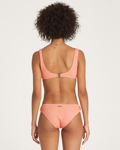 2 Summer High Bralette Bikini Top Orange XT23WBSU Billabong