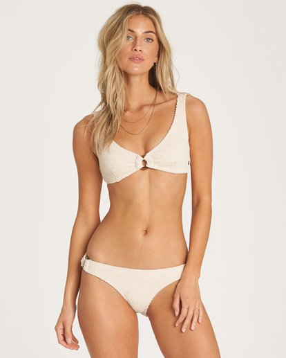 0 Summer High Bralette Bikini Top White XT23WBSU Billabong
