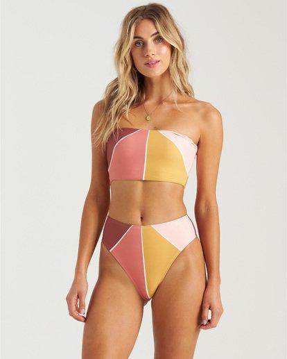 2 In The Rays Sun Tube Bikini Top Grey XT243BIN Billabong