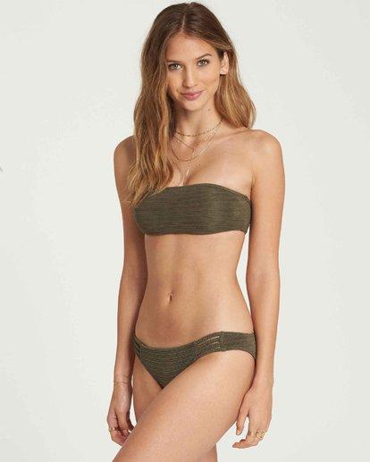 1 No Hurry Bandeau Bikini Top Green XT24QBNO Billabong