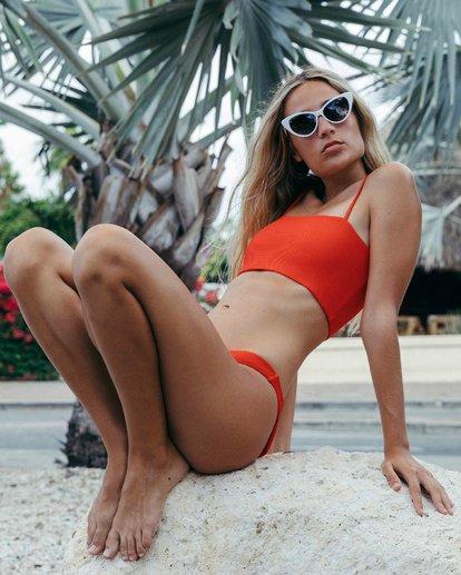1 Tanlines Tank Bikini Top Red XT24VBTA Billabong