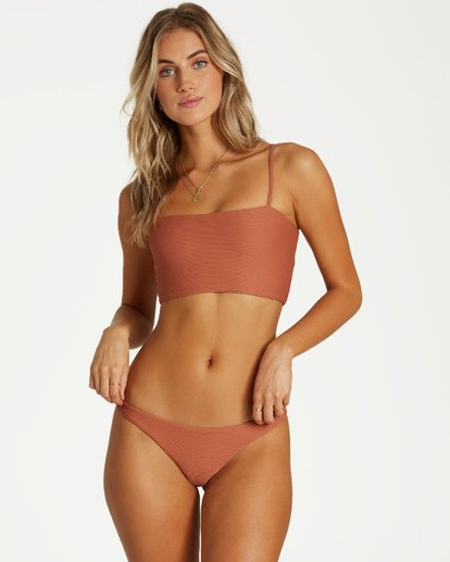 3 Tanlines Tank Bikini Top Brown XT24VBTA Billabong