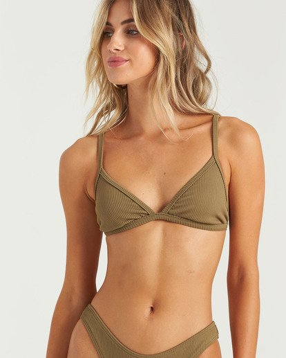 2 Sand Dunes Tri Bikini Top Green XT253BSA Billabong