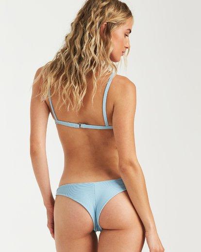 2 Tanlines Fixed Tri Bikini Top Blue XT25VBTA Billabong